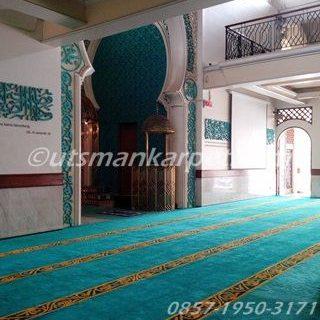 Jual Karpet Masjid Turki Custom Tebal dan Lembut