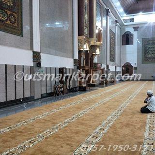 Jual Karpet Masjid Online Polos Meteran Rollan Turki