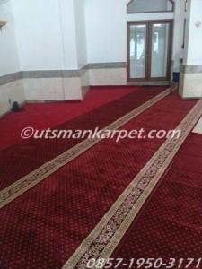 jual karpet masjid bekasi royal tebris merah